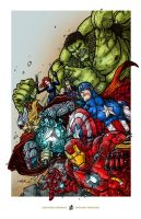 AVENGERS ASSEMBLE by TaylorGarrity