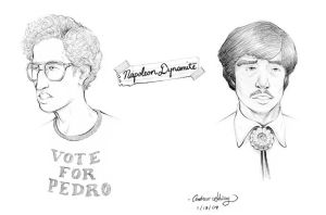 Napoleon and Pedro by silentsketcher