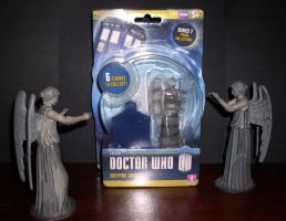Doctor Who - Weeping Angel Figures by CyberDrone