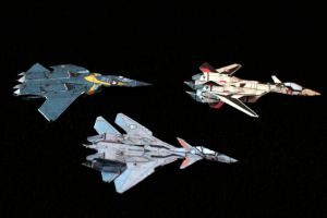 Tiny Macross Plus 3 by ThunderChildFTC
