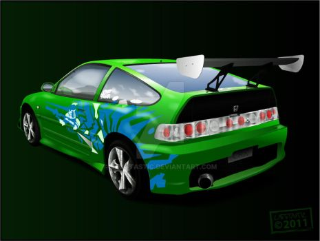 Honda CRX Vector_FINISHED by Laggtastic