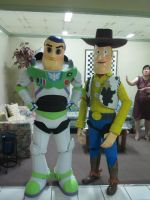 Buzz n Woody by pagawanaman