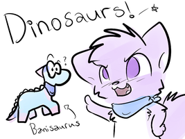 Dinosaurs by Caramelcat123