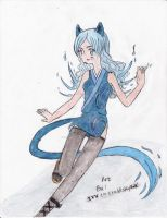 Full Body Colored Pencil 1 by XsakuraXiroX