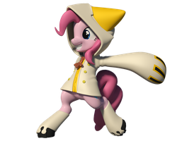 Taopiepie 3D Model by Clawed-Nyasu