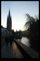 Brugge - sunset by mayec