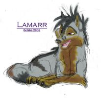 Lamarr Sketchy by Ochiba