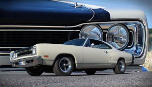 69' dodge coronet by Bephza