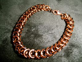 Chainmaille Bracelet by ilovelucy365