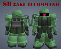 SD Zaku II Command by lordvipes