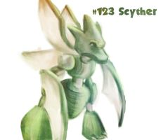 Scyther by Duhduch