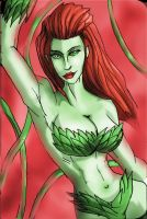 POISON IVY CARD by Sabrerine911