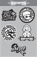 Sazee Clothing StickerPack by ValueDesignz