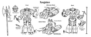 Tungsten Character Sheet by Laserbot