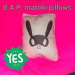 B.A.P. Mini Matoki Pillow by EmpressTerra
