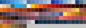 Sky colour palette swatch by Zedna7