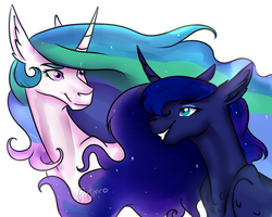 Horse princesses by Patmro