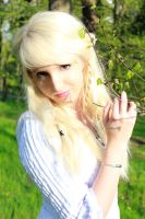 Spring Portrait by Liancary-Stock