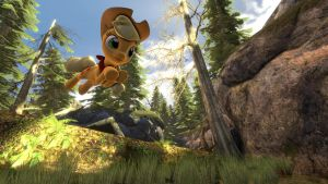 Applejack Jump [SFM Video] by argodaemon