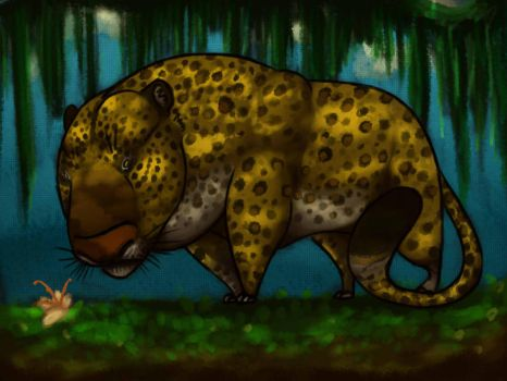 Jungle King (with effect) by MistressSusan
