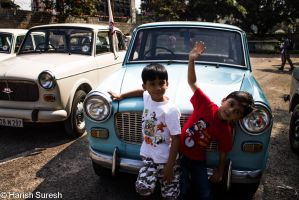 Kids and their Cars by harishrvt