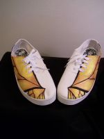 Monarch Tennis Shoes 4 by KimsButterflyGarden