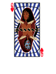 LizTen playing card wm by Dynamic-Illustration