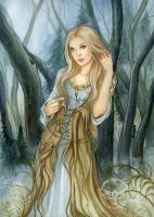 Sidhe by JannaFairyArt