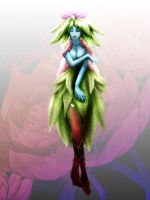 plant girl by raulovsky