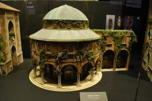 Theed City Building Miniature by DeRaKMiNe