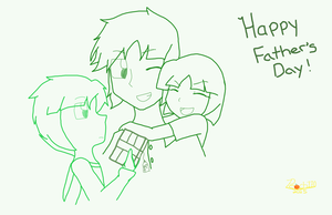 Happy Father's Day by Peach110
