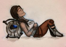 Portal - Rest by Beginneratart