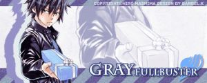 Gray Fullbuster by Dangel-Kimo