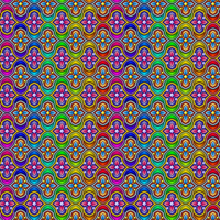 Rainbow Arabesque Pattern by Humble-Novice