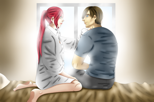 Special moment 3 (Good morning, Mrs.Kennedy) by NurulSlaluwBluee