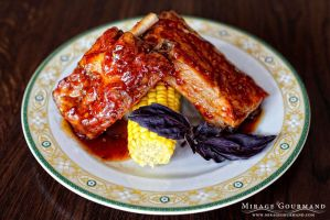 Lamb ribs by MirageGourmand