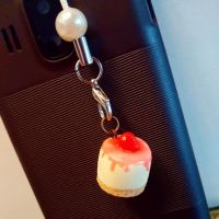 cheesecake cell phone charm by JL010203