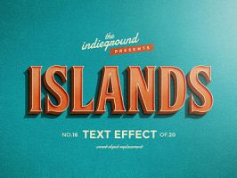 Retro Vintage Text Effect No.16 by IndieGround