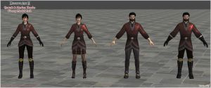 Dragon Age II: Hawke Finery Model Pack by Berserker79