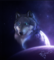 A Legend In The Sky by KovoWolf