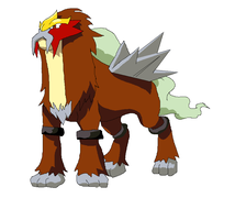 Entei by AbIgAiL96