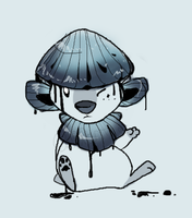 Inky Cap Doodle by MBPanther
