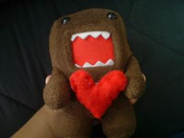 Domo-kun loves you by erisama
