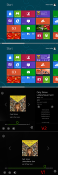 Windows8 Consumer Preview Music Player by PeterRollar