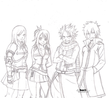 Fairy Tail by Anam111