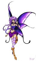 Purple Fairy by moonlight-messenger
