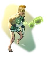 Hal Jordan Hates Mornings by sdowner