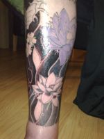 koi tattoo3 by campfens
