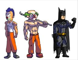 Batman Cartoons by Carlzors