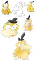 Psyduck Collection 3 by rockingenton